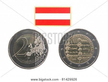Commemorative Coin Of Austria