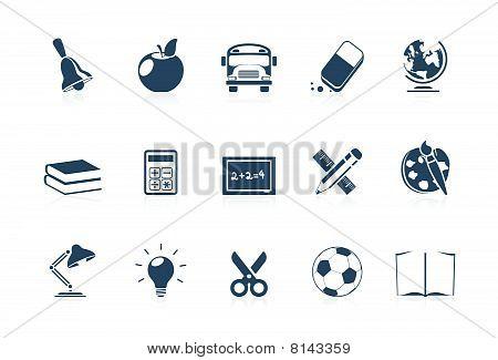 School Icons - Piccolo series