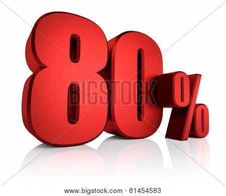 Red 80 Percent