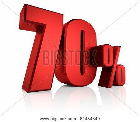 Red 70 Percent