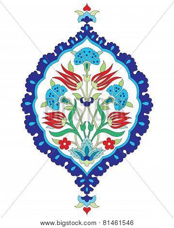 Artistic Ottoman Seamless Pattern Series Sixty Six