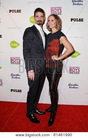 LOS ANGELES - JAN 29:  Kevin Richardson, Mandy Richardson at the