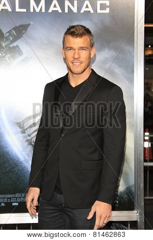 LOS ANGELES - JAN 27:  Alan Ritchson at the