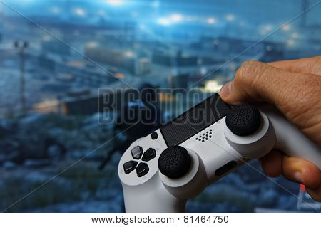 Hand with Gamepad 3