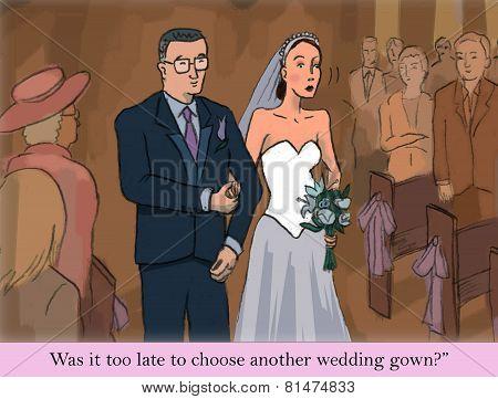 Wedding Day Jitters