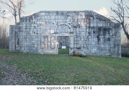 Ancient Ruins Of San Martino Church, Gattico