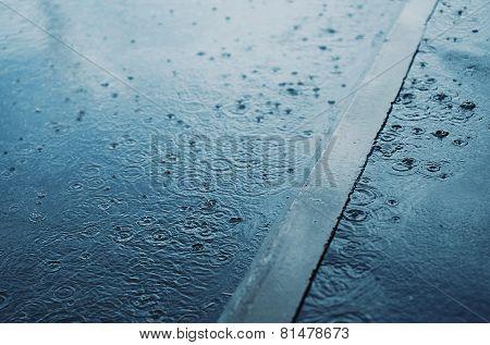 Rain, Autumn Day, Weather - Concept