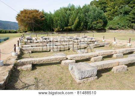 Foundation Of Gameunsa Temple At