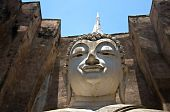 The Buddha Status Of Sukothai Historical park, sukothai province, Thailand poster