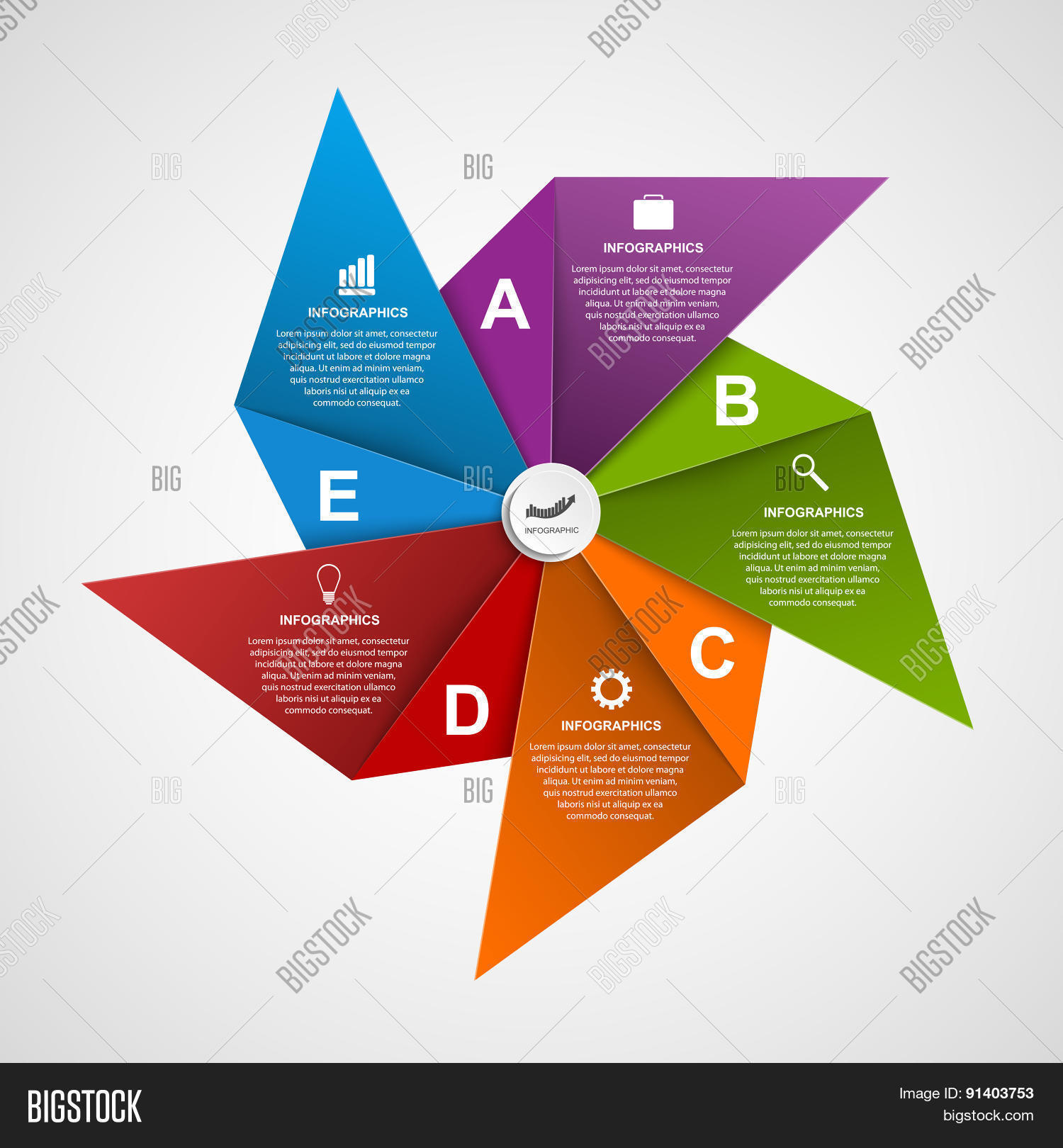 Vector y foto Abstract Options (prueba gratis) | Bigstock