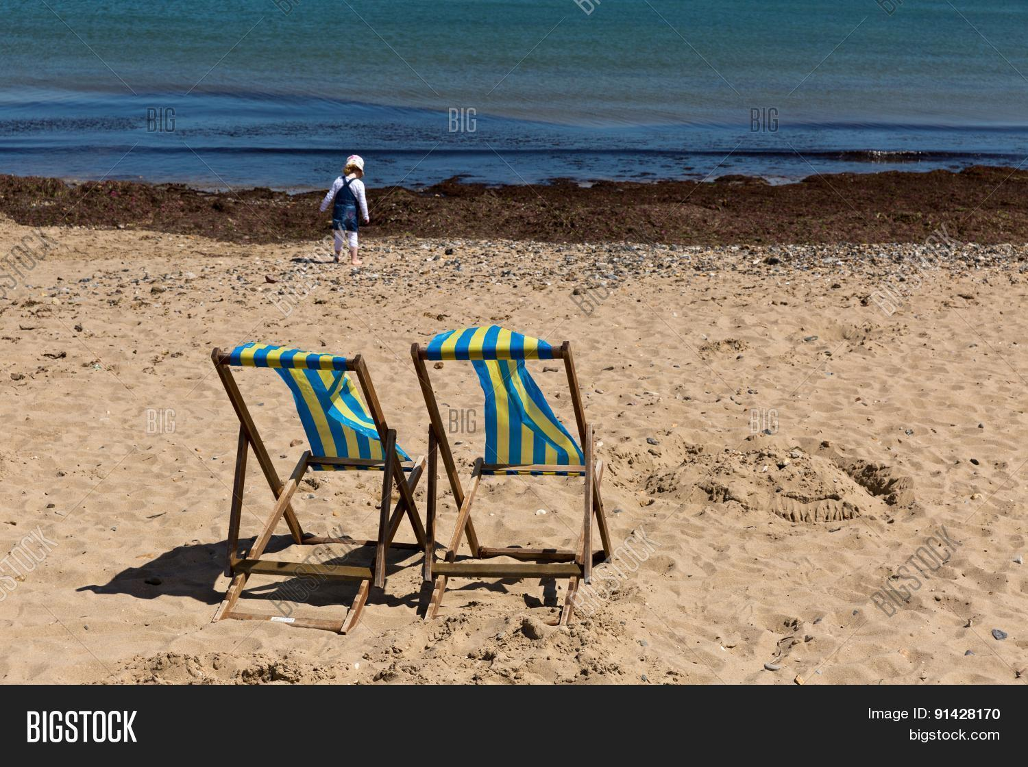Awe Inspiring Two Blue White Striped Image Photo Free Trial Bigstock Caraccident5 Cool Chair Designs And Ideas Caraccident5Info