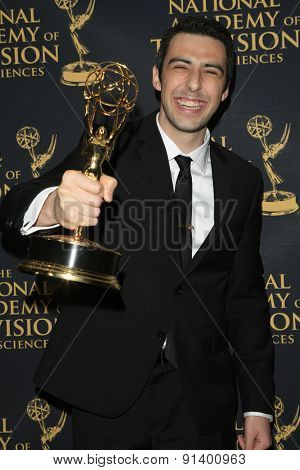 LOS ANGELES - APR 24: Michael Goldberg at The 42nd Daytime Creative Arts Emmy Awards Gala at the Universal Hilton Hotel on April 24, 2015 in Los Angeles, California