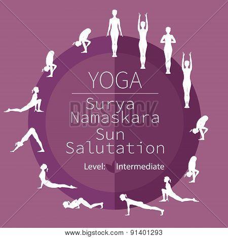 yoga poses, Surya Namaskara