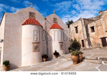 Ancient Monastery Of Preveli