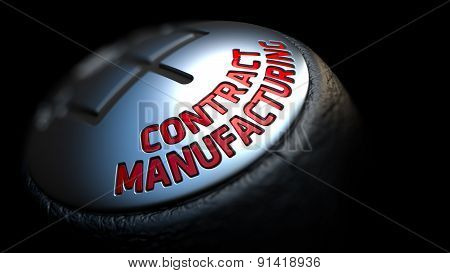 Contract Manufacturing. Gear Lever. Control Concept.