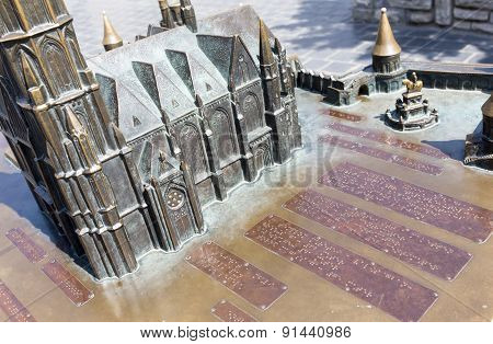 Matthias Church Model For Blind People