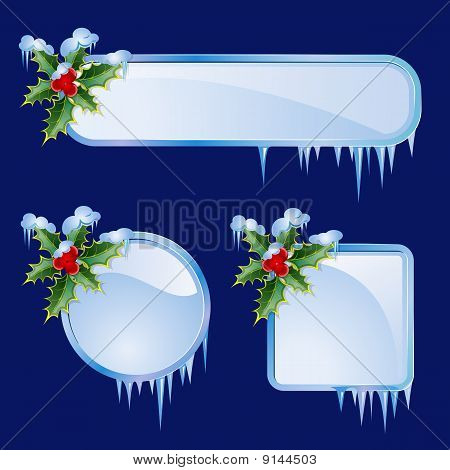 Set From Christmas Frames