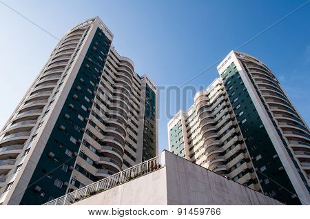 New Modern Apartment Buildings