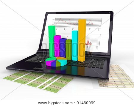 Online Reports Indicates World Wide Web And Diagram