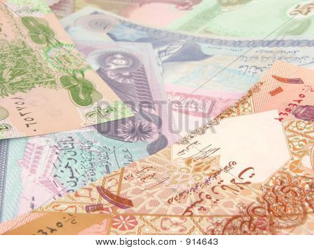 Old Iraqi Currency