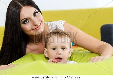 Childhood And Parenthood Concept
