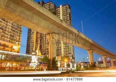 Bangkok Twilight Scene