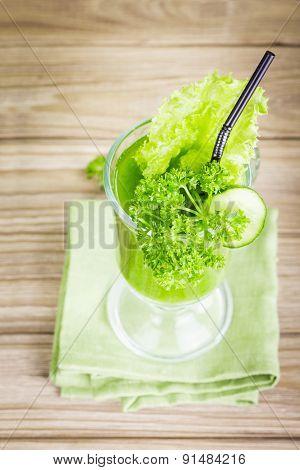 Healthy Green Juice Smoothie
