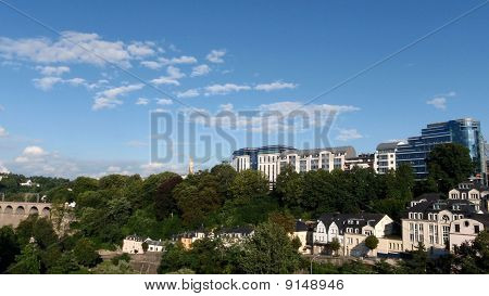 Luxembourg - Panoramic view