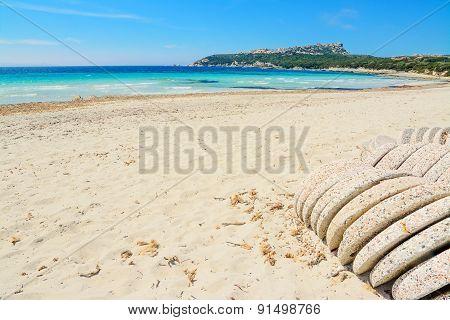 White Sand In Capo Testa,