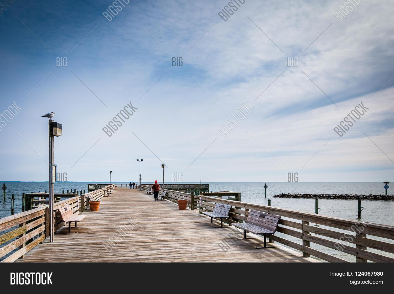 Fishing Pier Image Photo Free Trial