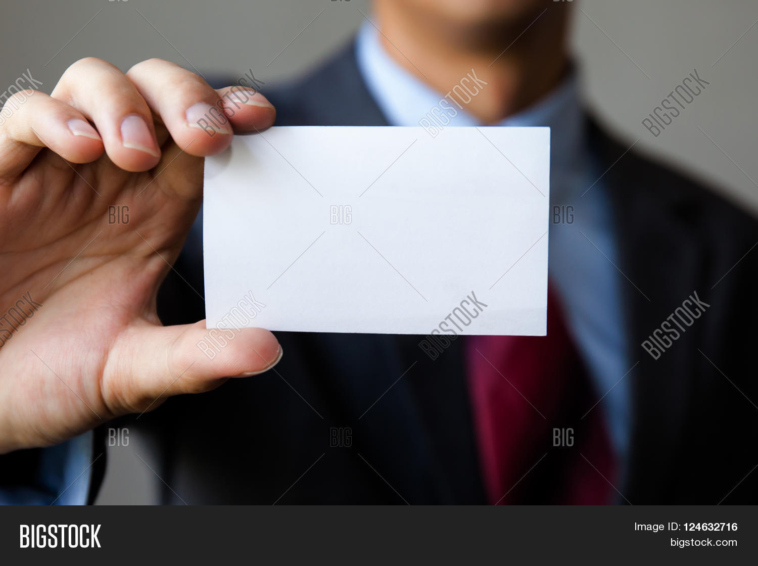 Young Man Business Suit Holding Image & Photo | Bigstock