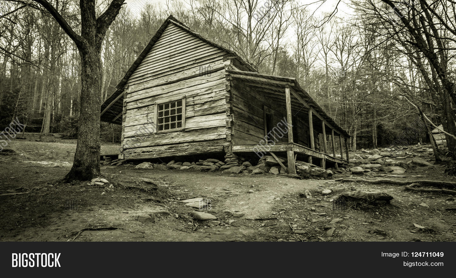 smoky log united cabin national tennessee great states usa photos cabins image free park in mountains