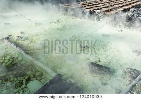 Natural hotspring