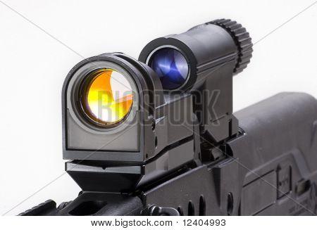 wpart of ell known AK-47 kalashnikov assault rifle-