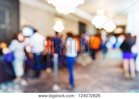 Blur People Registering