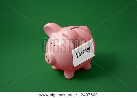 Vacant Piggy