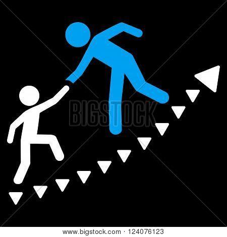 Education Progress vector icon. Education Progress icon symbol. Education Progress icon image. Education Progress icon picture. Education Progress pictogram.