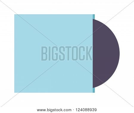 CD isometric vector illustration. CD isometric isolated on white background. CD isometric vector icon illustration. CD isometric isolated vector. CD isometric silhouette