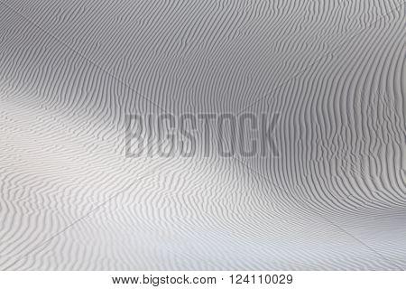 Sand desert surface dunes of Socotra island