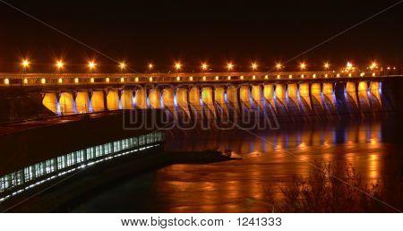 Power Dam In The Night