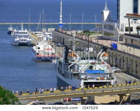 Passenger Sea Port