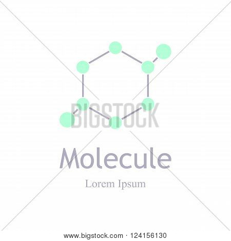 Science icons. Modern logotype icon molecule. Laboratory ecology vector logo. Research and science. Lab Eco icon isolated. Vector template for medicine science technology chemistry biotechnology.