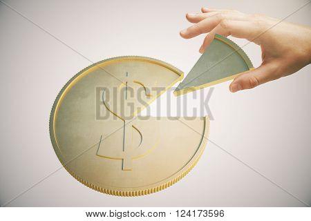 Dollar Coin Light