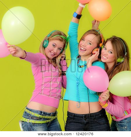 party teens