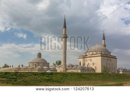 Beyazit Kulliyesi, mosque and hospital complex built by Bayezid II, Edirne, Edirne Province, Turkey