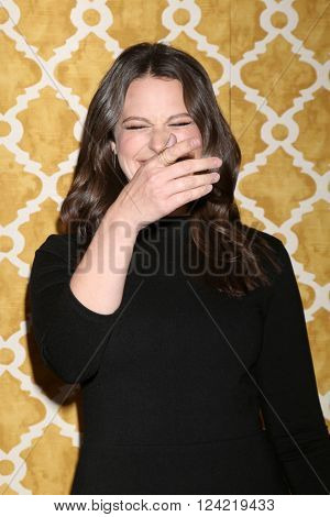 LOS ANGELES - MAR 31:  Katie Lowes at the Confirmation HBO Premiere Screening at the Paramount Studios Theater on March 31, 2016 in Los Angeles, CA