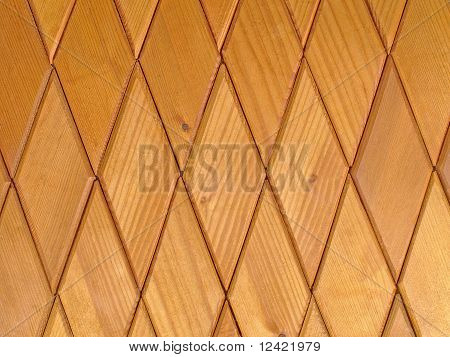 Wooden Rhombus Tiles.background