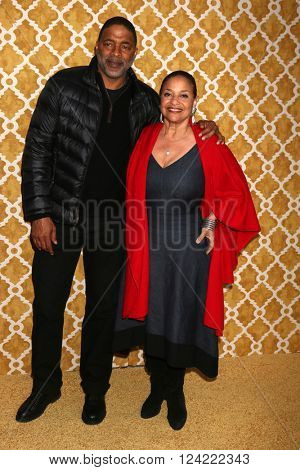 LOS ANGELES - MAR 31:  Norm Nixon, Debbie Allen at the Confirmation HBO Premiere Screening at the Paramount Studios Theater on March 31, 2016 in Los Angeles, CA
