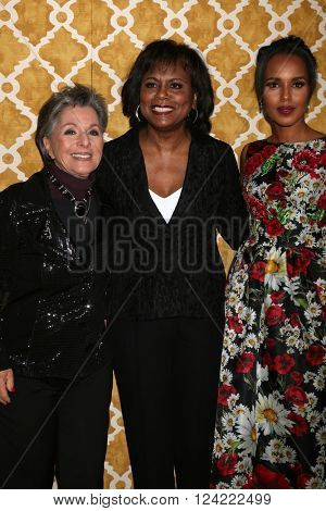 LOS ANGELES - MAR 31:  Barbara Boxer, Anita Hill, Kerry Washington at the Confirmation HBO Premiere Screening at the Paramount Studios Theater on March 31, 2016 in Los Angeles, CA