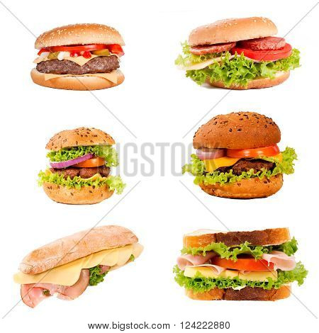 Sandwich And Hamburger